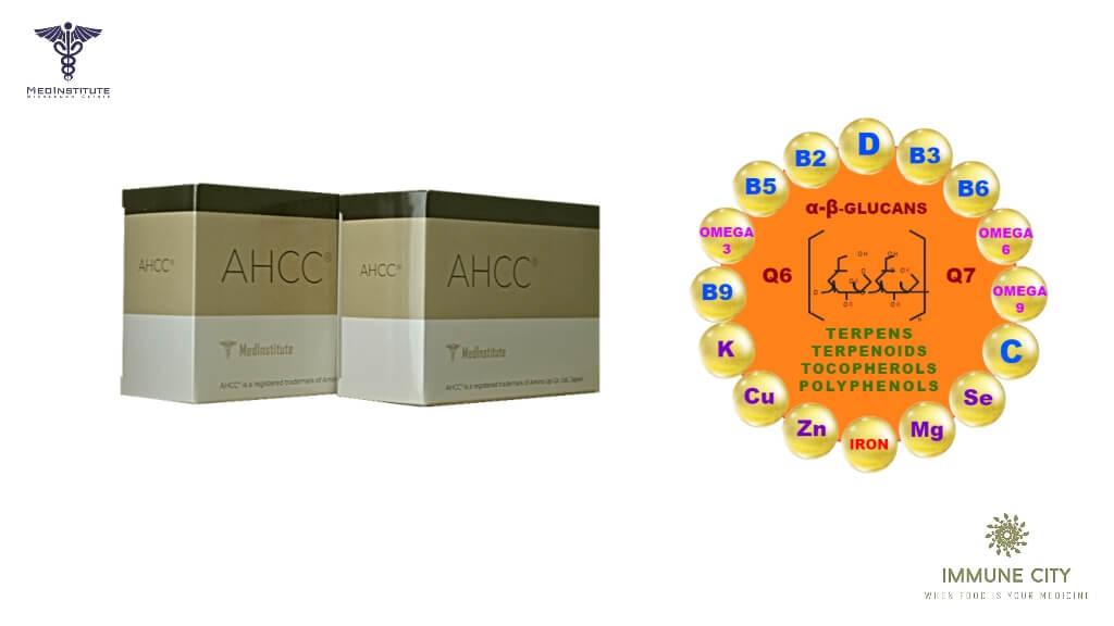 AHCC с витамином С